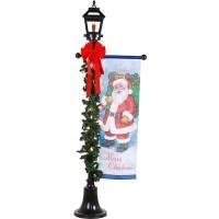 Christmas Lamp Post, 6' Tall - Walmart.com