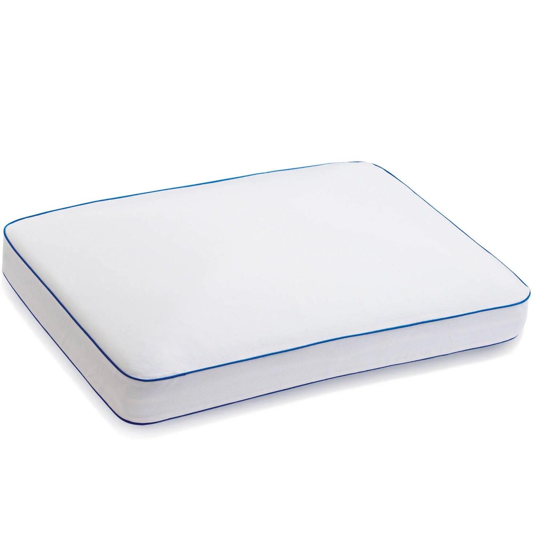 sleep innovations gel memory foam side sleeper pillow