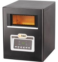soleil electric infrared cabinet space heater 1500w ph 91f [ 2000 x 2000 Pixel ]