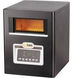 soleil electric infrared cabinet space heater 1500w ph 91f walmart com [ 2000 x 2000 Pixel ]
