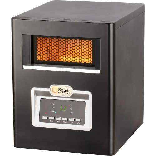 small resolution of soleil electric infrared cabinet space heater 1500w ph 91f