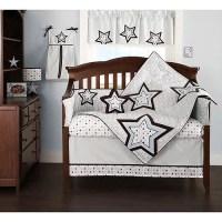 Beansprout - Mod Star 4-Piece Crib Bedding Set - Walmart.com