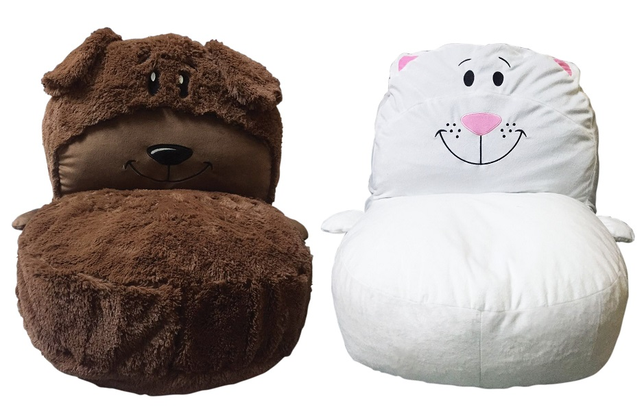 kids plush chairs steel chair dubai flipazoo 2 in 1 stuffed animal multiple options walmart com