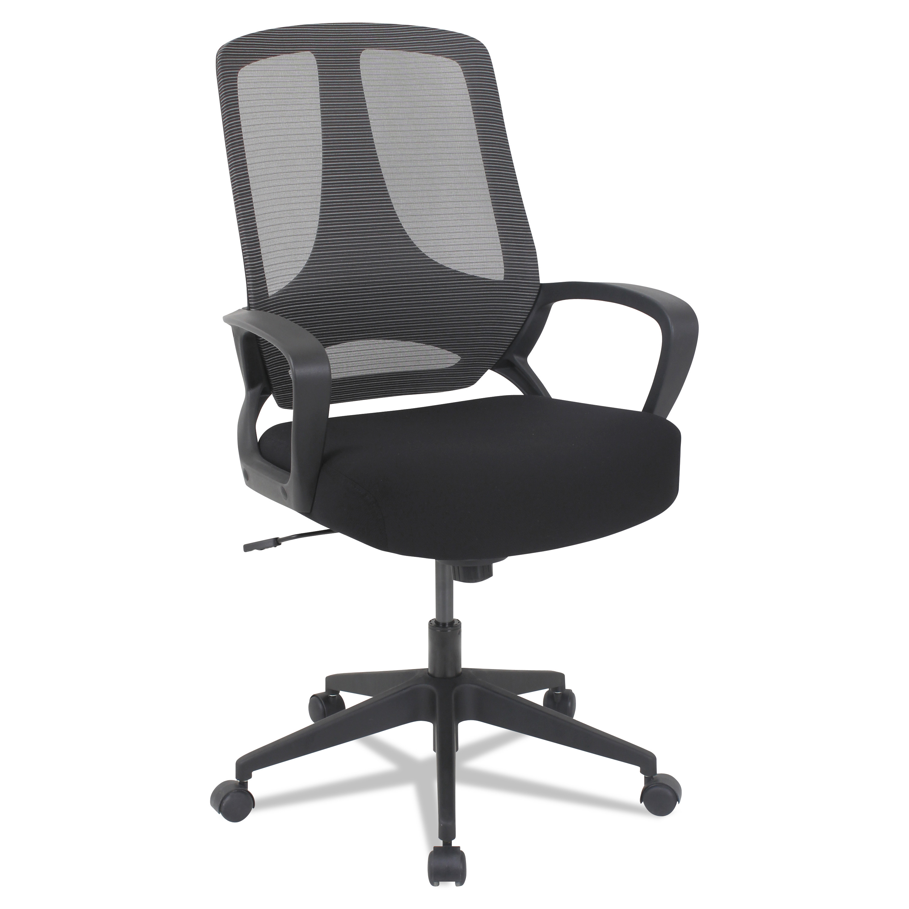 Alera Office Chairs Alera Mb Series Mesh Mid Back Office Chair Black
