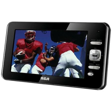 """RCA DPTM70R 7"""" ATSC Portable Digital LED TV, Black"""