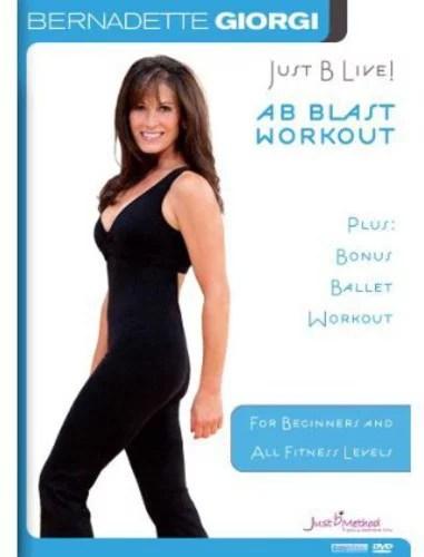 JUST B LIVE-AB BLAST PLUS BONUS BALLET WORKOUT (DVD) (DVD)