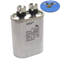 HQRP 10uf 370-440V Capacitor AC Electric Motor Run Start ...