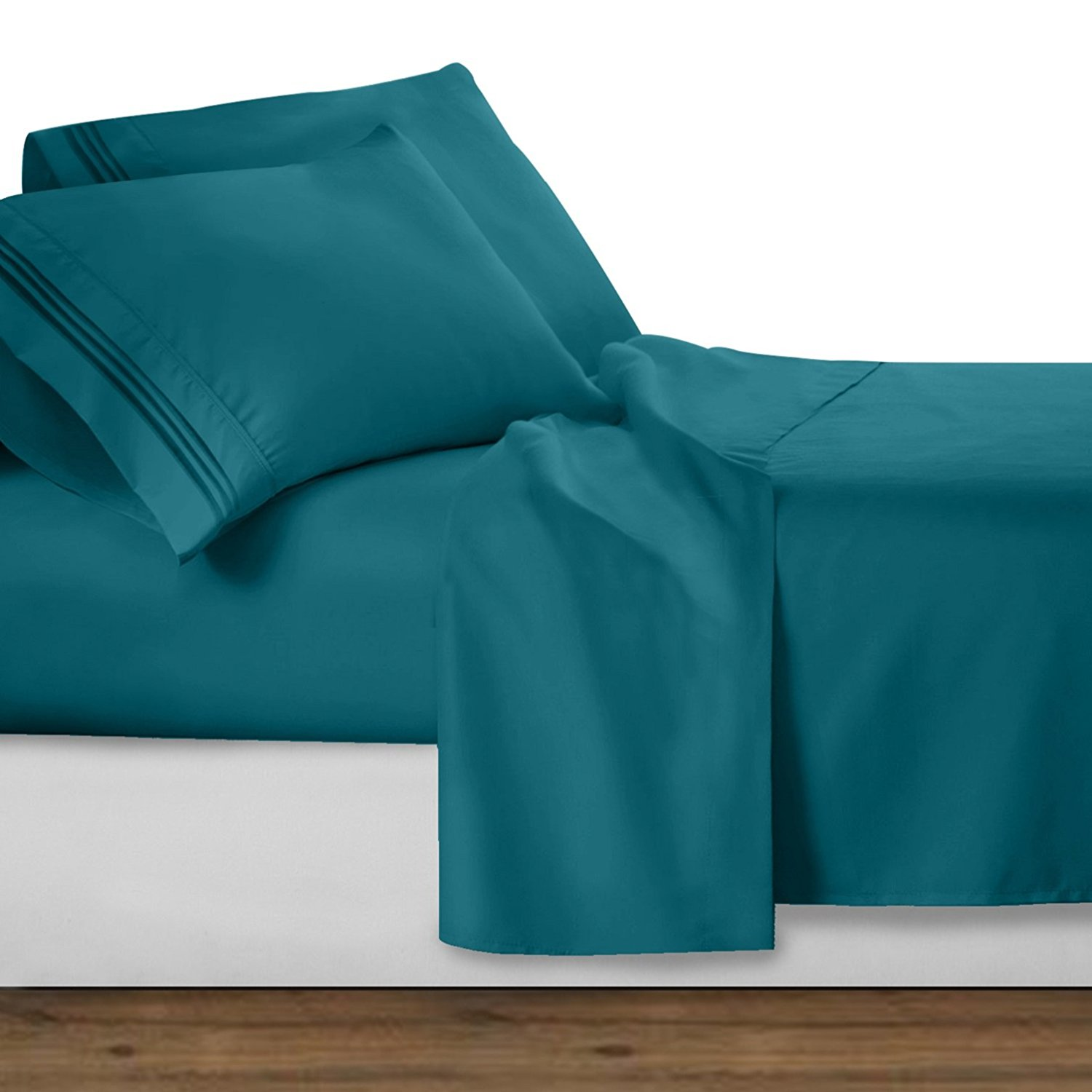 Premier Collection Deluxe Microfiber 3 Line Bed Sheet