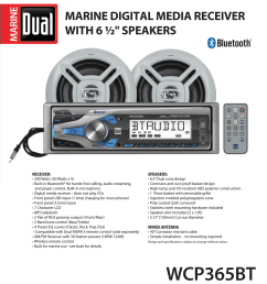 dual electronics wcp365bt marine stereo lcd single din with built in bluetooth usb port two 6 5 inch dual cone marine speakers long range marine antenna  [ 2769 x 3092 Pixel ]