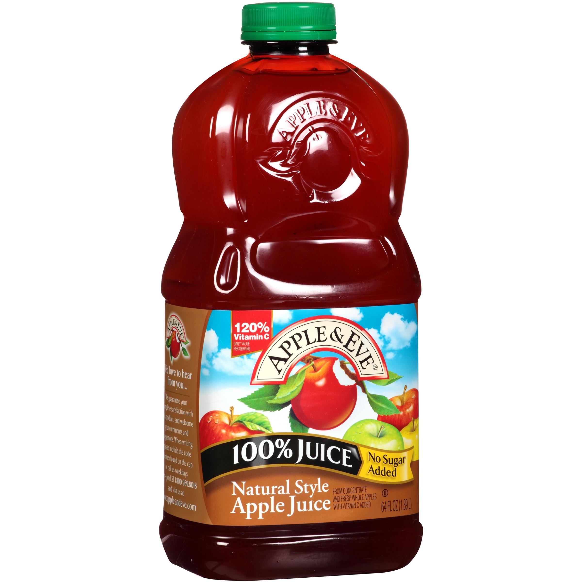 Apple Eve Natural Style Apple 100 Juice 64 fl oz