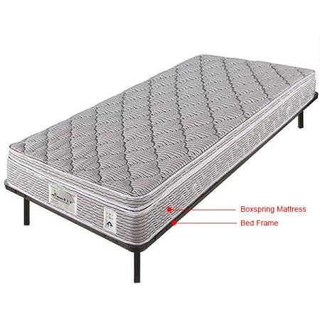 Metal Platform Base Bed Frame Wood Slats Foundation Mattress Bye