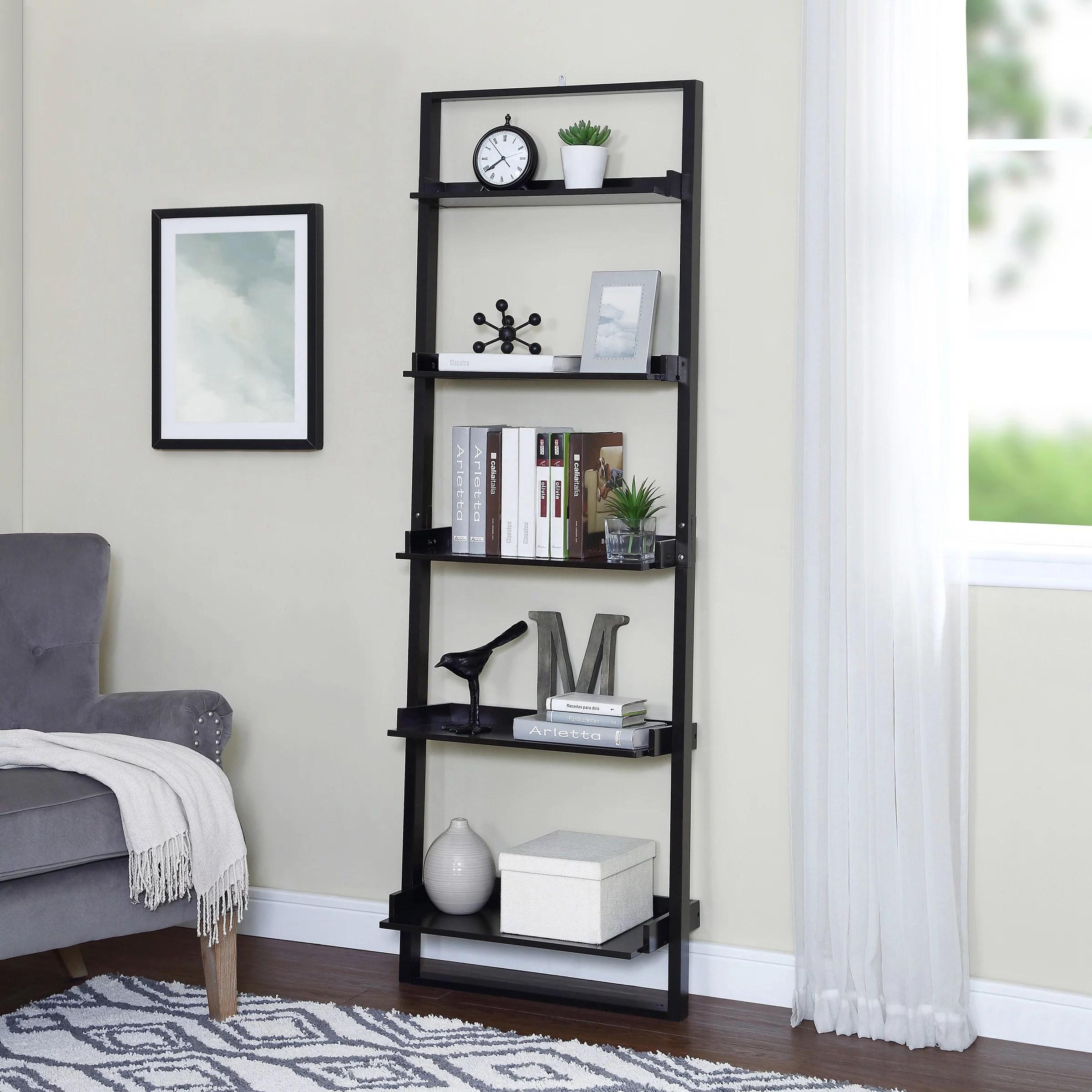 mainstays 70 5 shelf