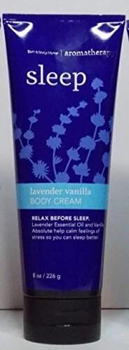 Aromatherapy Sleep Lavender Vanilla Body Cream (8.0 Oz ...