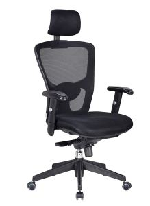 Livearty Adjustable Full Mesh Mid Back Swivel Office Chair With Armrest Headrest Task Computer Desk Arm Head Rest Chair Black