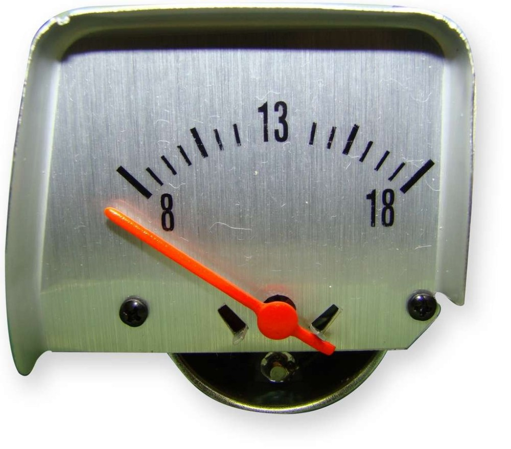 medium resolution of american autowire voltmeter ammeter replacement gm f body 1968 69 p n 510121 walmart com