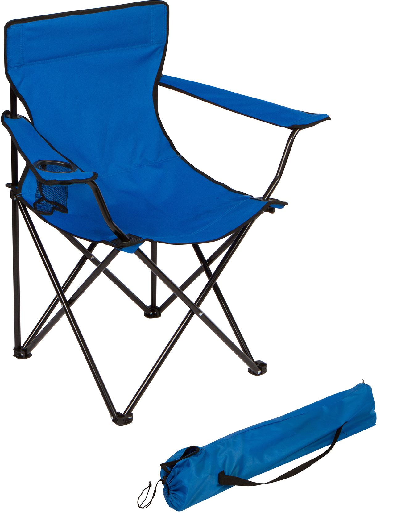 portable folding chairs bedroom target camp chair by trademark innovations blue walmart com