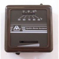 32300 ATWOOD MECHANICAL HEAT ONLY WALL THERMOSTAT BLACK RV ...