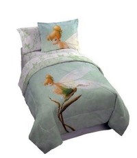 Disney Tinkerbell Tink Watercolor Twin Size Bedding Set ...