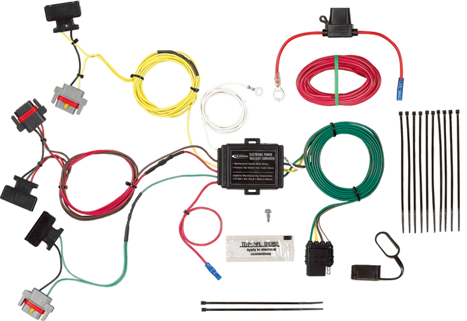 hight resolution of hopkins towing solution 11142435 trailer wire harness walmart comhopkins wire harness 4