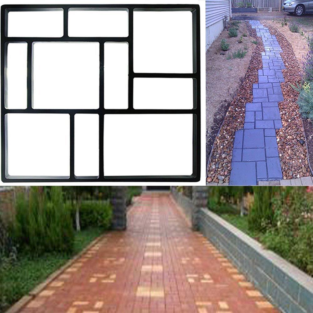 tmishion 10 grid concrete stone