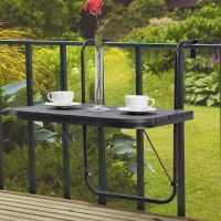 Hanging Balcony Table - Image Balcony and Attic ...