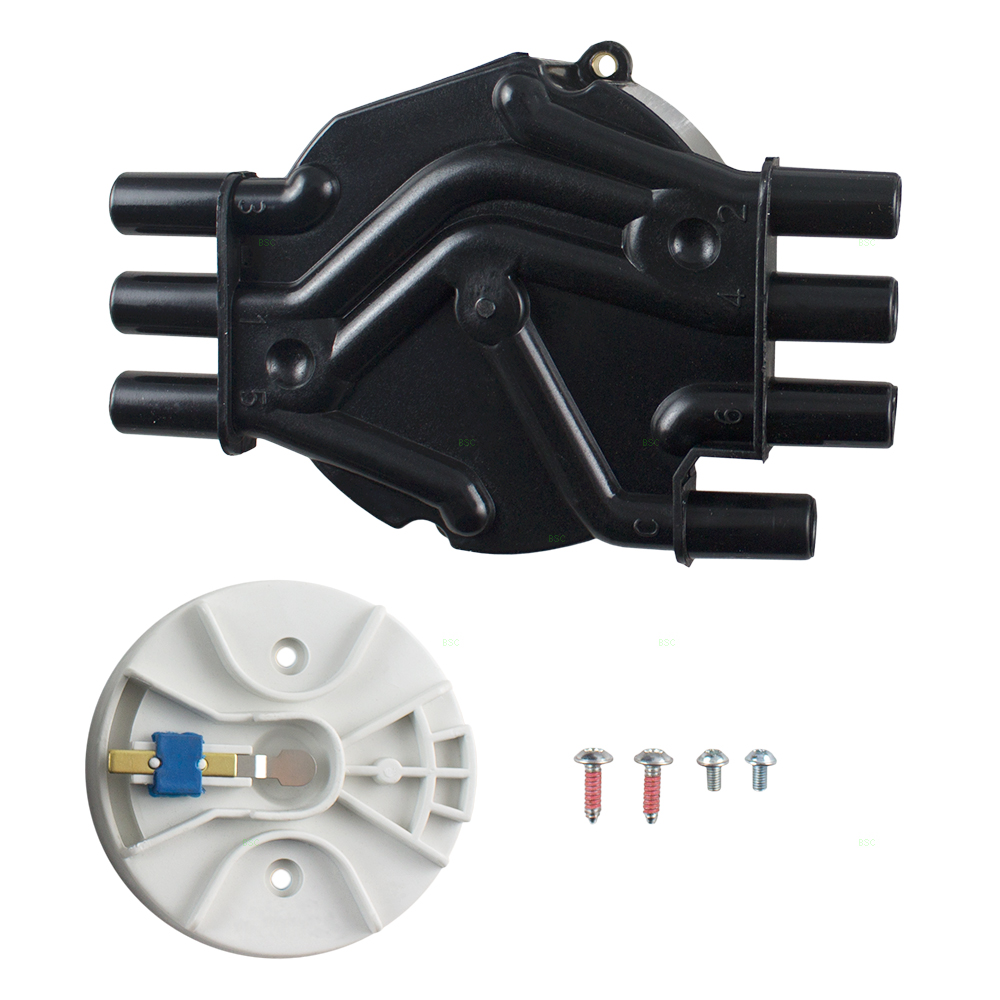 medium resolution of brock ignition distributor cap rotor kit replacement for oldsmobile chevrolet gmc pickup truck suv van 4 3l 10452457 8104524580 walmart com