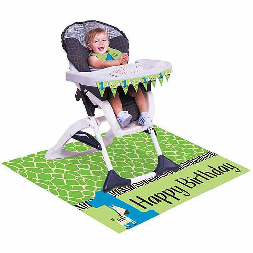 zebra high chair old rocking chairs pictures wild at 1 kit walmart com