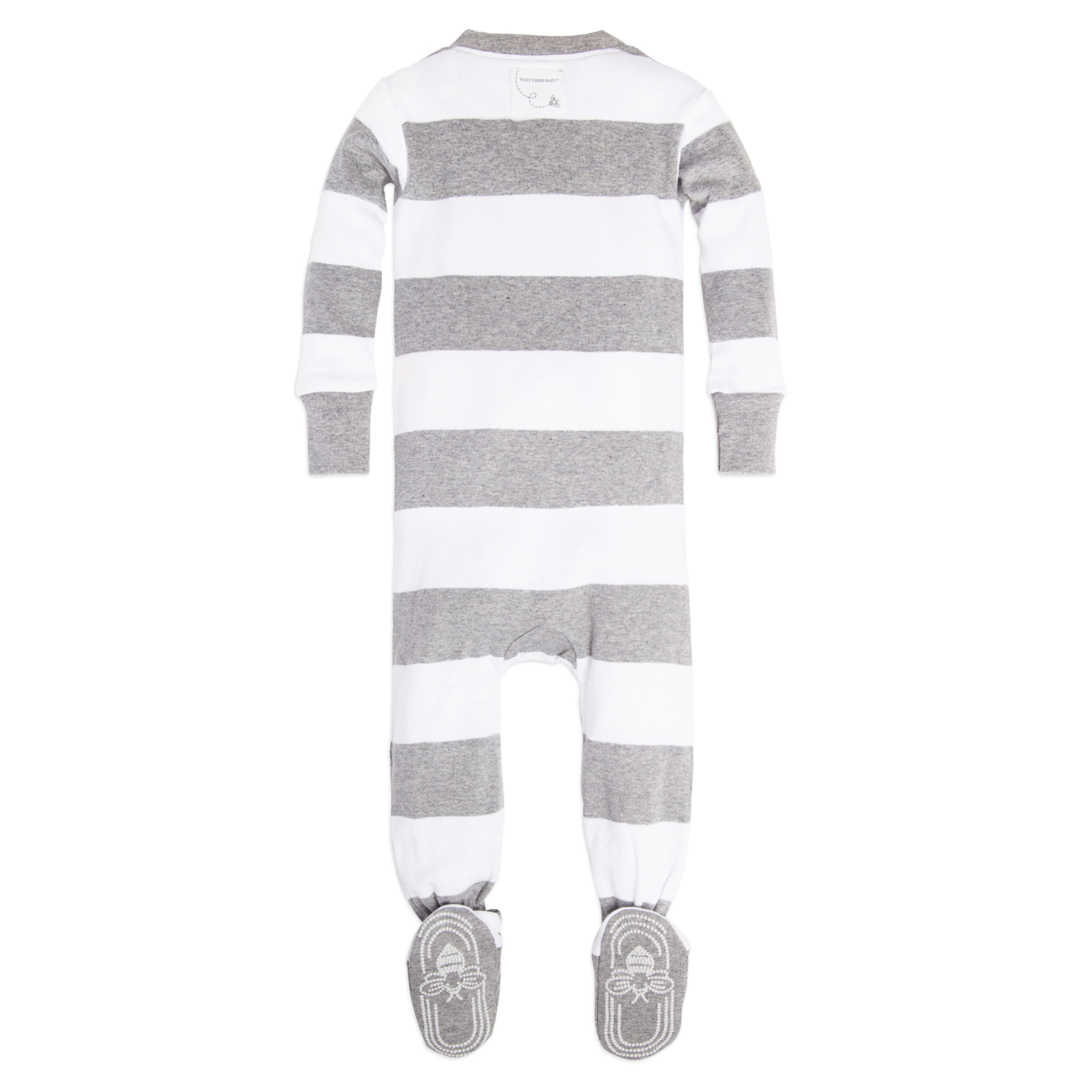 burt s bees baby baby boys or baby girls one piece sleeper pajamas
