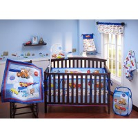 Disney Cars Junior Junction 4pc Crib Set