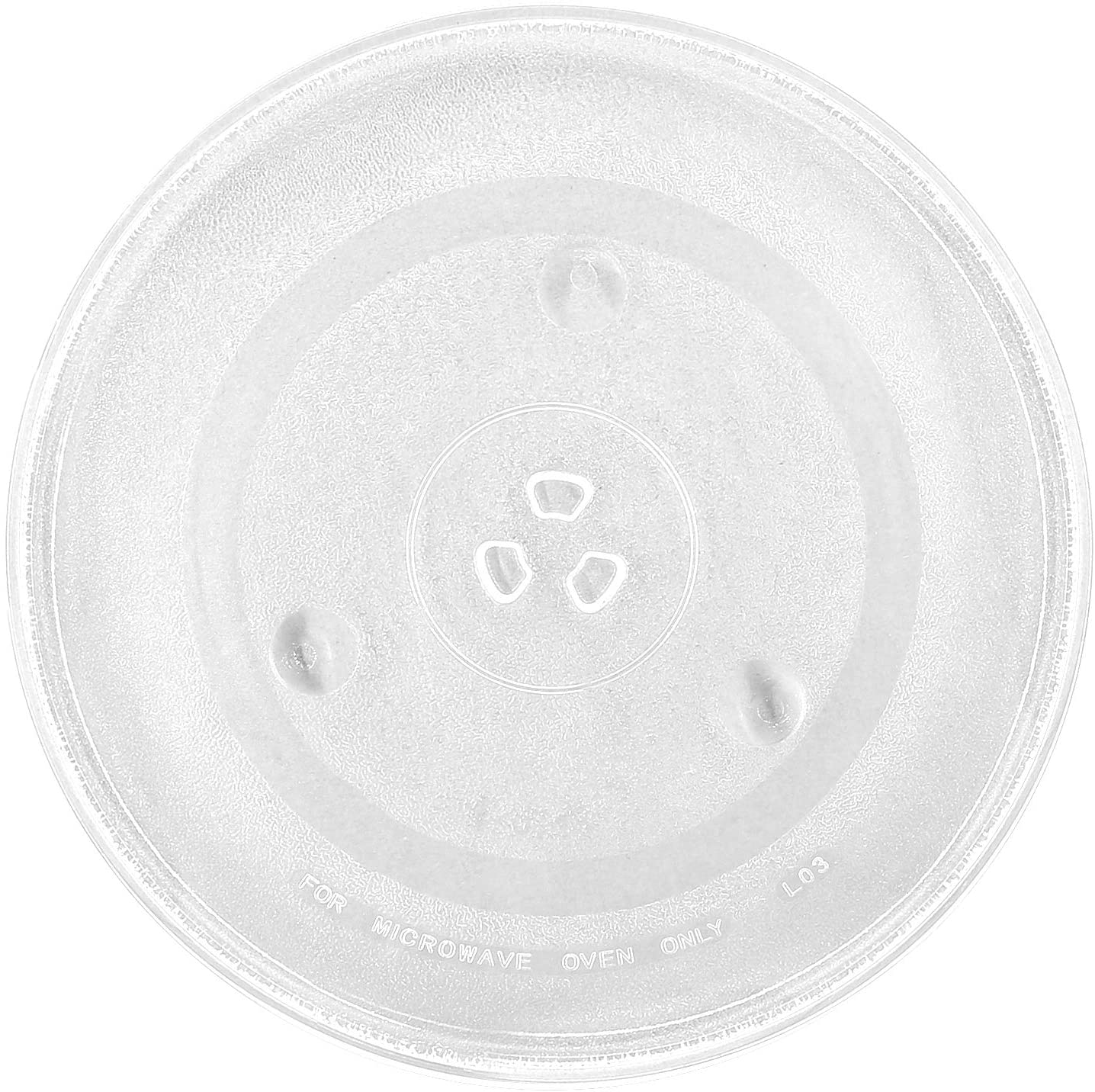 12 5 microwave glass plate turntable replacement 12 1 2 for 3 part bushing couplers centerpieces round rotating dish tray for microwaves