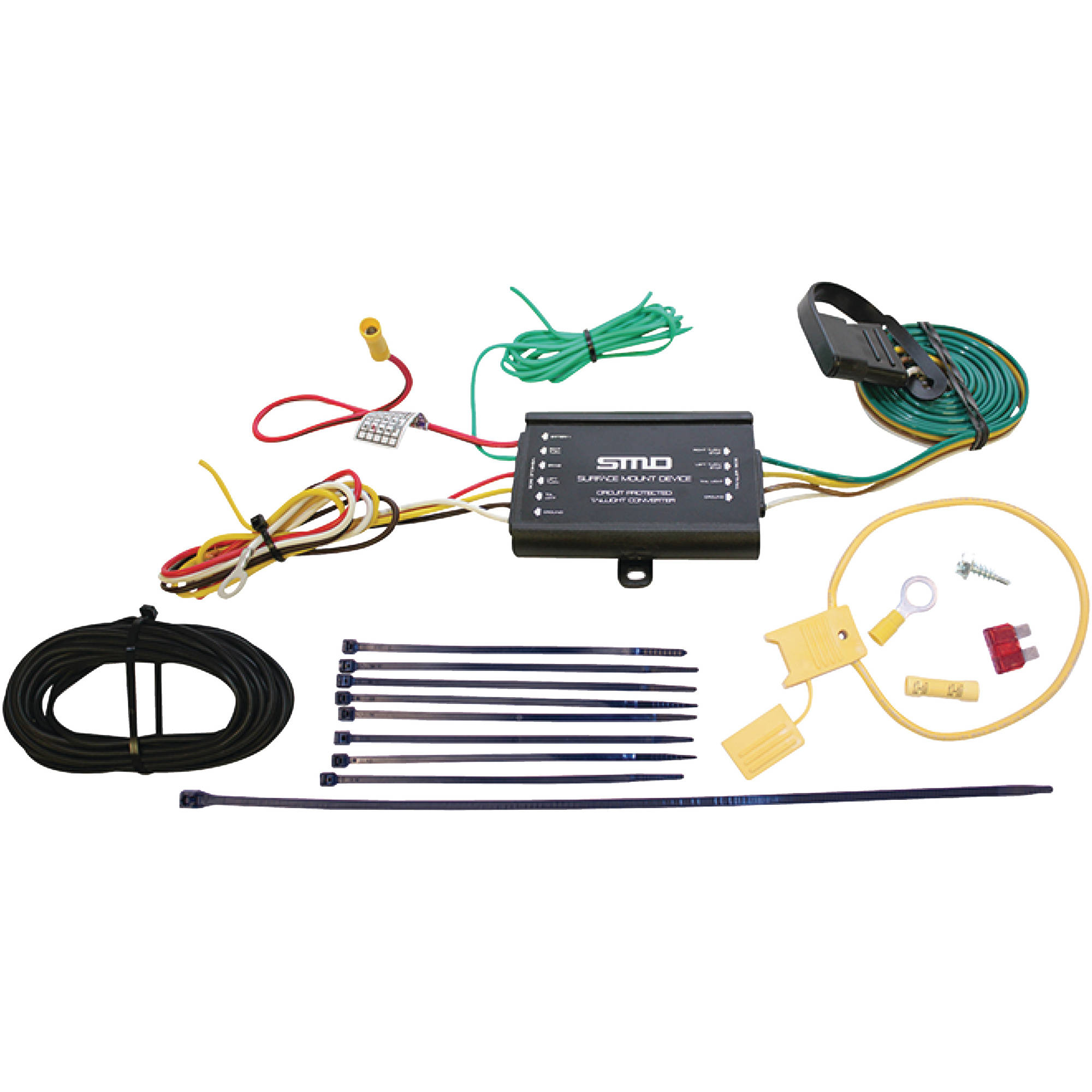 hight resolution of seachoice 58021 heavy duty tail light converter with wiring kit walmart com