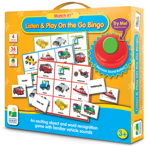 Match It Listen and Play Bingo Farm  Walmartcom