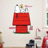 Fathead Junior Peanuts Snoopy Wall Decal