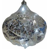 Holiday Time LED Silver Onion Hanging Christmas Light ...