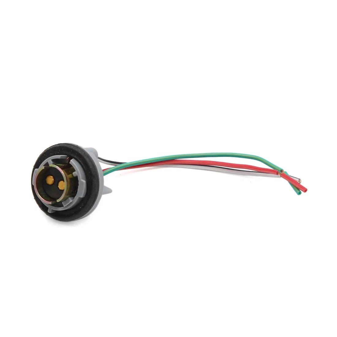 hight resolution of 1157 turn light brake bulb socket connector wire harness for bulbs walmart com