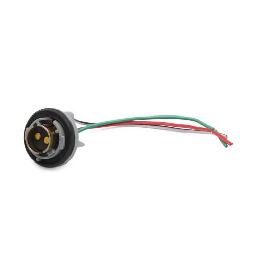 small resolution of 1157 turn light brake bulb socket connector wire harness for bulbs walmart com