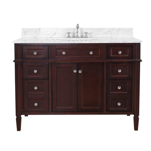 Kitchen Bath Collection Hailey 48 Single Bathroom Vanity