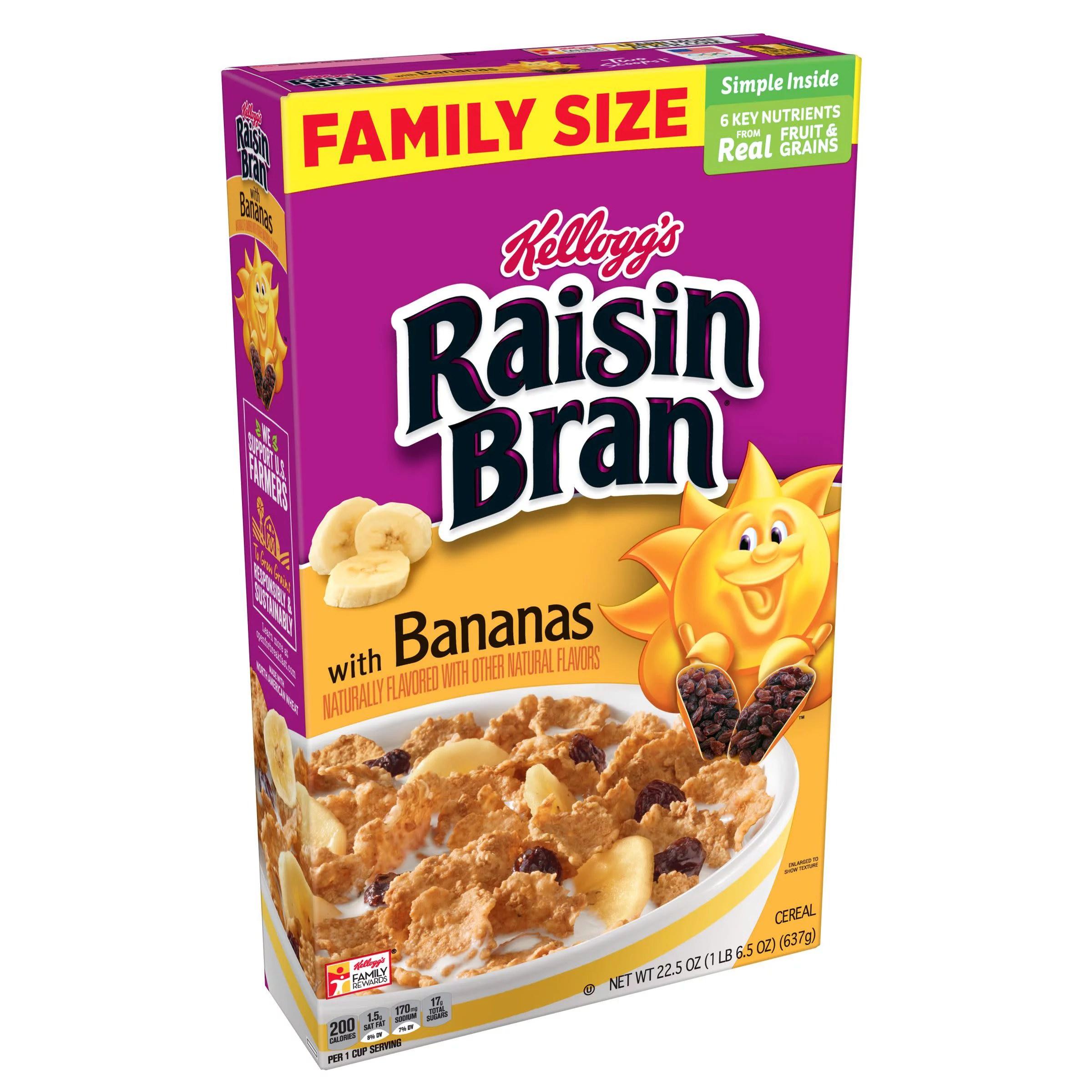 Great Value Organic Raisin Bran Cereal 18.7 oz - Walmart.com