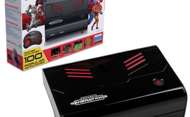 Retro Bit Generations Plug N Play Game Console Black