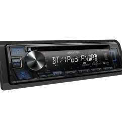 kenwood kdc bt350u single din in dash cd receiver with bluetooth siriusxm ready walmart com [ 1500 x 1500 Pixel ]