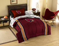 NFL Arizona Cardinals Twin Comforter, Sheets and Sham (5 ...