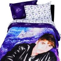 Justin Bieber Concert Purple Twin-Single Bedding Set ...
