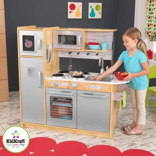KidKraft Uptown Natural Play Kitchen  53298  Walmartcom