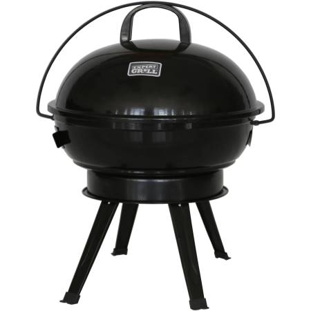 """Expert Grill 14.5"""" Dome Charcoal Grill, Black"""
