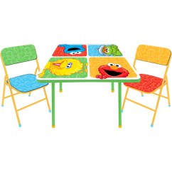 Elmo Table And Chairs Broyhill Dining Home Goods Sesame Street Activity Set Walmart Com Departments