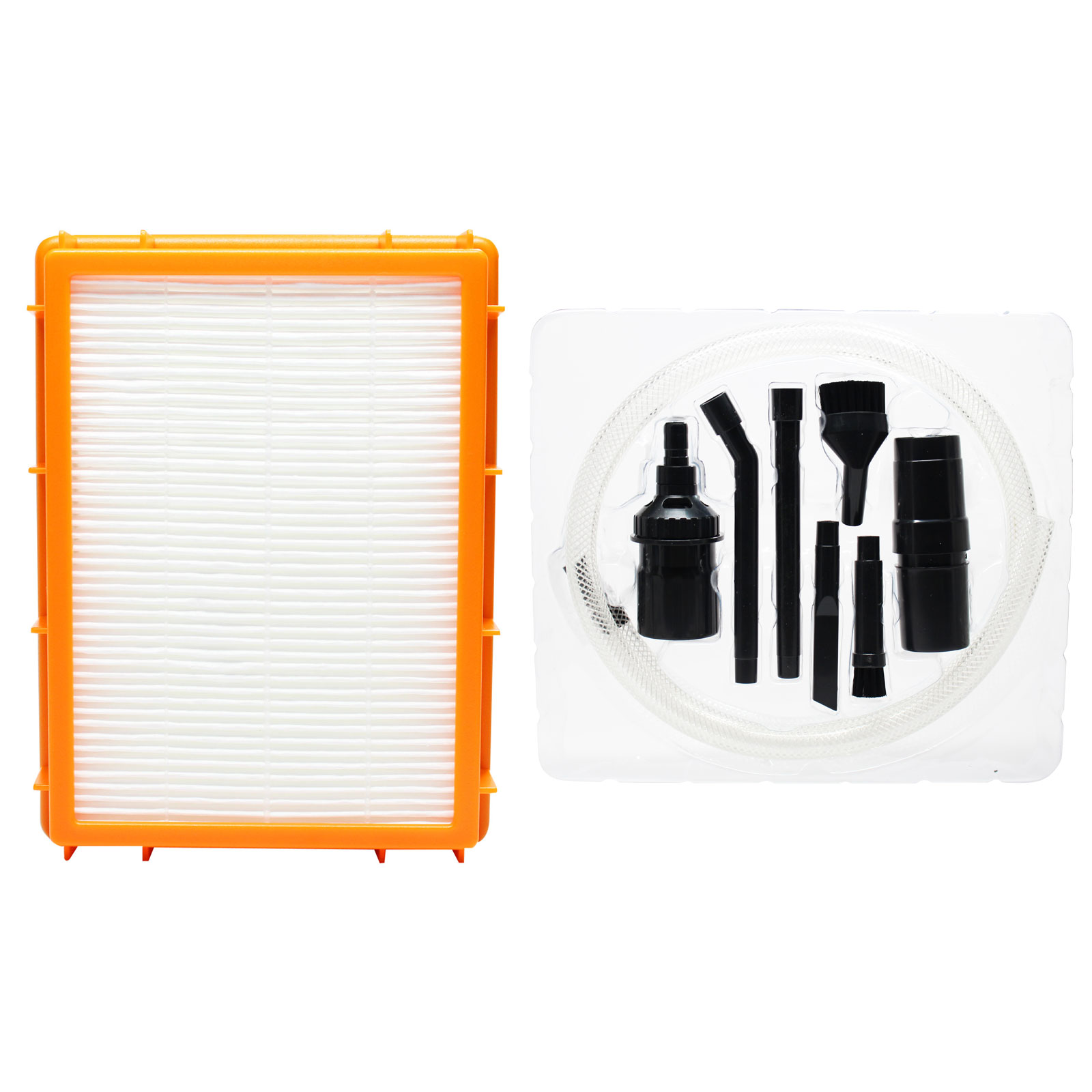 hight resolution of replacement eureka 4870hz vacuum hepa filter with 7 piece micro vacuum attachment kit compatible eureka hf 2 hepa filter
