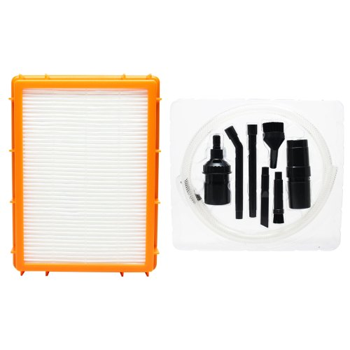 small resolution of replacement eureka 4870hz vacuum hepa filter with 7 piece micro vacuum attachment kit compatible eureka hf 2 hepa filter