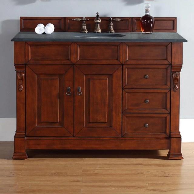 James Martin Brookfield 48 in. Single Bathroom Vanity with ... on {keyword}