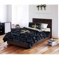NFL New Orleans Saints Bed in a Bag Complete Bedding Set ...