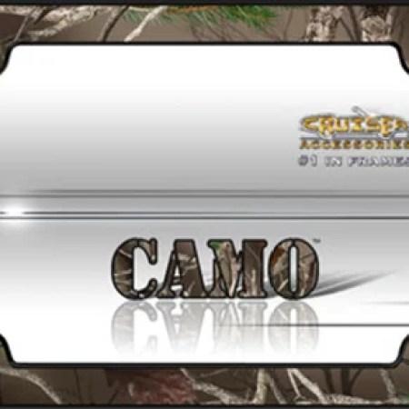 Camouflage License Plate Frames | Frameswalls.org